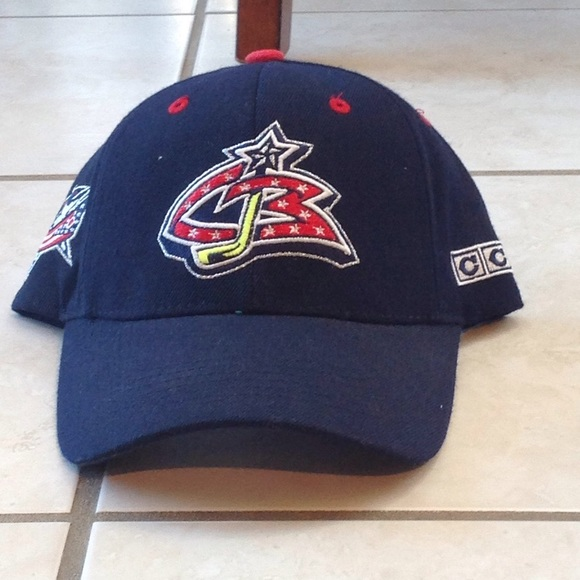 85250f6ffd3 Vintage Columbus Blue Jackets Hat. M 5a45126b9a945520490cf15e. Other  Accessories ...